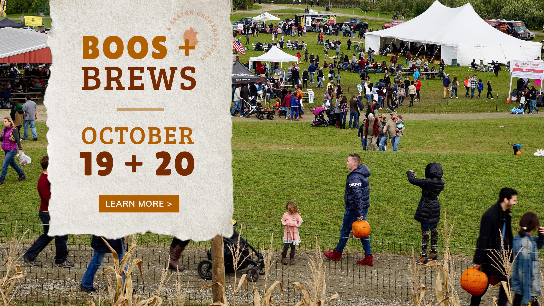 Boos & Brews October 19